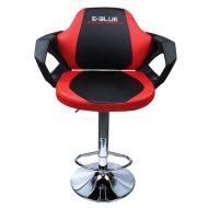 Barová stolička E-Blue COBRA, červené, 2ks v balení, cena za 2-pack