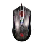 A4tech Myš BLOODY P93, 5000DPI, optická, 8tl., 1 kolečko, drátová USB, stříbrná, herní, Light Strike, CORE 2