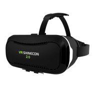 """Virtuální realita, brýle, VR SHINECON 2.0, 4.0-6.0"""", černé, nastavitelné čočky"""
