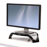 Podstavec Smart Suites pod monitor, nastavitelná výška, černo-stříbrný, plast, 10kg nosnost, Fellowes, ergo
