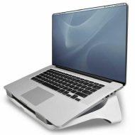 Podstavec I-Spire pod notebook, bílý, plast, 6kg nosnost, Fellowes