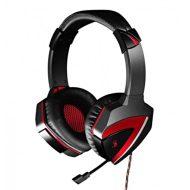 A4Tech, G501, sluchátka s mikrofonem, ovládání hlasitosti, černá, herní sluchátka, USB