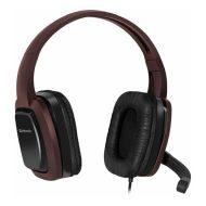 Defender, Warhead G-250, sluchátka s mikrofonem, ovládání hlasitosti, černo-hnědá, herní sluchátka, 2x 3.5 mm jack