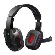 Defender, Warhead G-260, sluchátka s mikrofonem, ovládání hlasitosti, černo-červená, herní sluchátka, 2x 3.5 mm jack