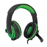 Defender, Warhead G-300, sluchátka s mikrofonem, ovládání hlasitosti, černo-zelená, herní sluchátka, 2x 3.5 mm jack