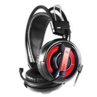 E-Blue, Cobra I, herní sluchátka s mikrofonem, černá, 3.5 mm jack