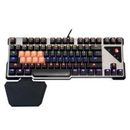 A4Tech Klávesnice B700, herní, černo-stříbrná, drátová (USB), CZ, mechanická, mechanická
